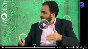 Fernando Sánchez Costa en el programa La Qüestió (ETV, 11,X.2013)