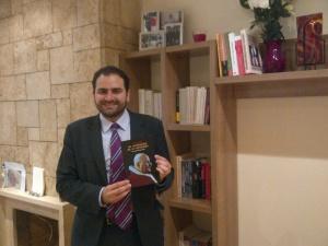 """Fernando Sánchez Costa, autor de """"Juan XXIII. Un campesino en el Vaticano"""""""